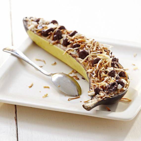 baked banana boat