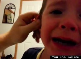 Dad 'Takes' Little Boy's Ear, And It's Totally Devastating