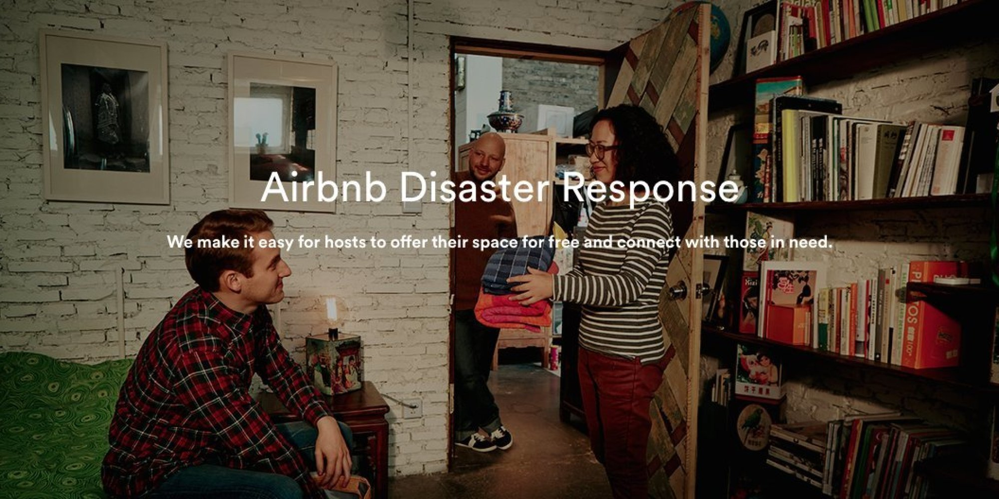 airbnb hosts offer neighbors a home away from home during disasters huffpost. Black Bedroom Furniture Sets. Home Design Ideas