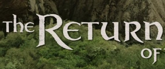 lotr title screen