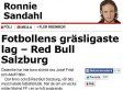 Aftonbladet Newspaper Apologises After Comparing Red Bull Salzburg To Adolf Hitler