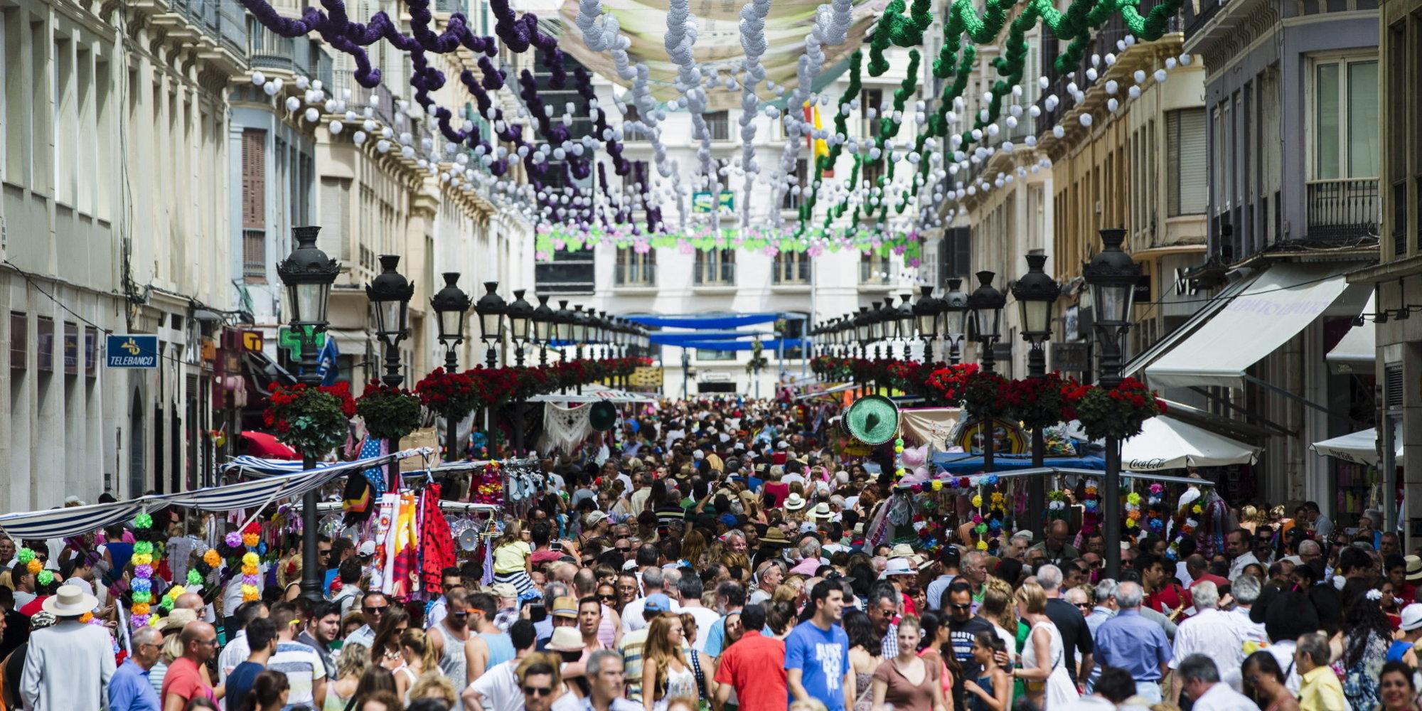 La mujer que denunci la violaci n en la feria de m laga for Feria outlet malaga 2017
