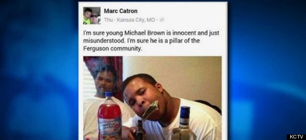 Cop Investigated For Racist Facebook Posts About Michael Brown