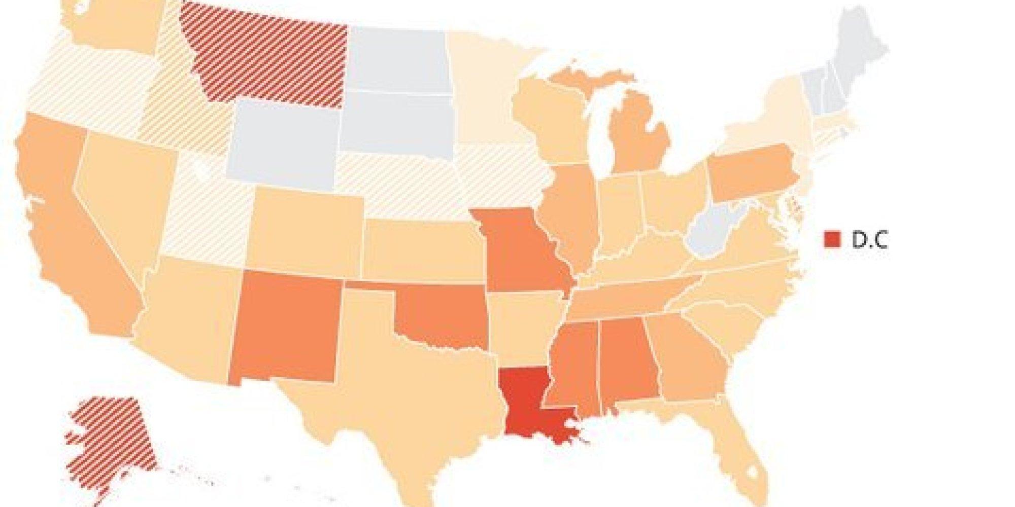 The Horrific Risk Of Gun Violence For Black Kids In America In 4 Charts Huffpost