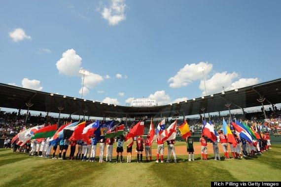 little league world series flags