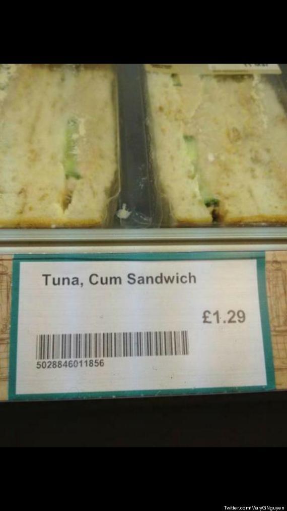 tuna cum sandwich shop fail