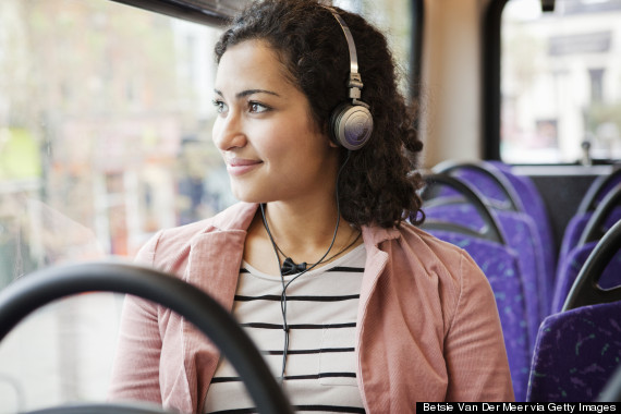 london bus commuter