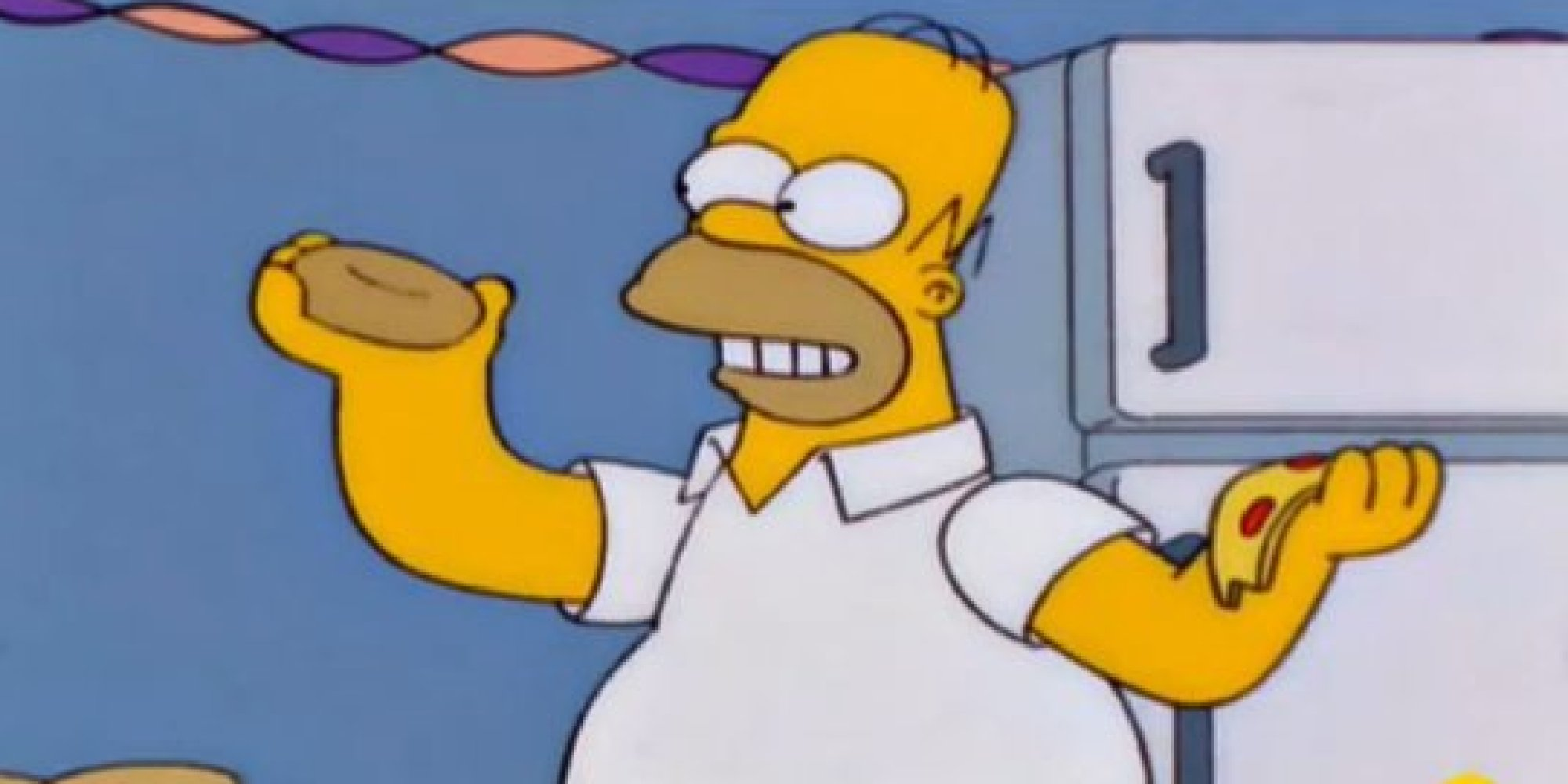 Homer Simpson Gets Out Of Bed