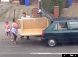 'Pivot!' Yes, It's The 'Friends' Remix Of That Family Trying To Get A Sofa Into Their Car