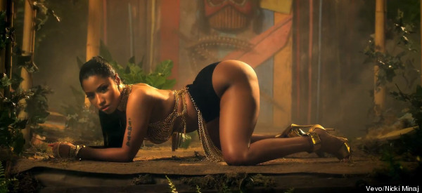 Nicki Ditches David McIntosh From 'Anaconda' Vid?