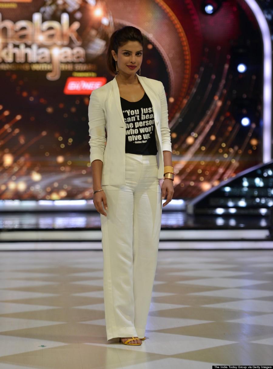Priyanka Chopra S White Suit Has An Important Message