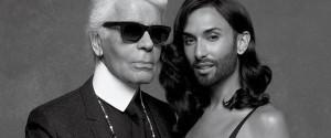 Conchita Wurst Karl Lagerfeld