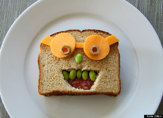 sandwich faces