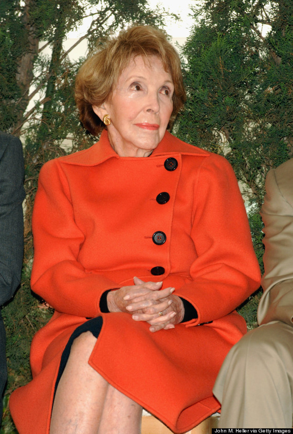 nancy reagan 2007