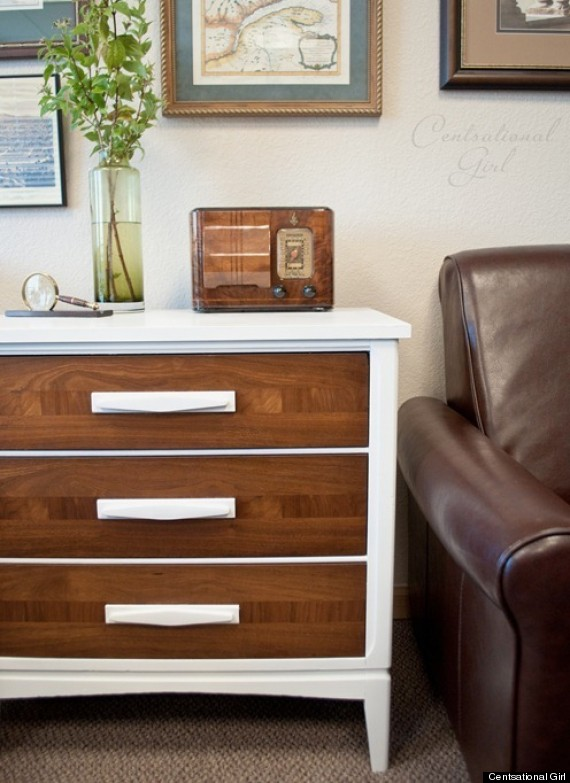 painting wood furniture white9 Ways To Make Cheap Furniture Look Expensive  HuffPost
