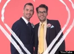 Gay Bridegrooms Urged To 'Think Outside The Closet'