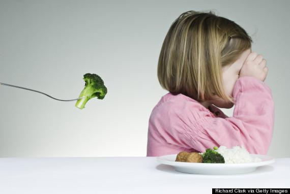 refusing food