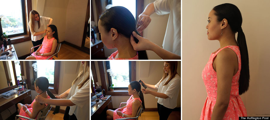 sally ponytail