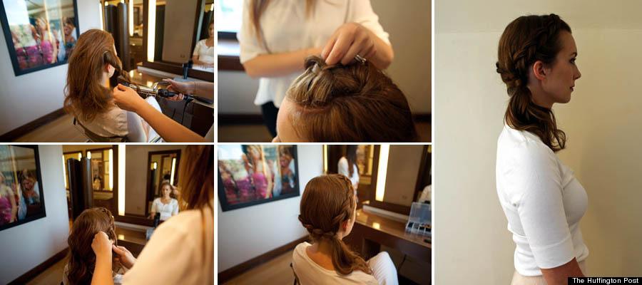 kristen ponytail