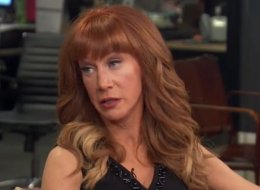 Kathy Griffin Is Sick Of The 'Same Middle-Age White Guys' On Late Night TV