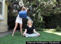 Arianna Huffington Takes On The ALS Ice Bucket Challenge