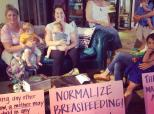 Moms Stage 'Nurse-In' To Protest Anthropologie Breastfeeding Incident