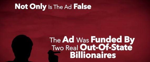 ATTACK ADS IOWA BILLIONAIRES
