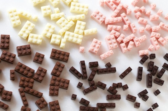 Edible Chocolate LEGOs Exist, Childhood Dreams Can Now Be Stacked