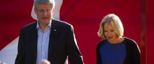 Stephen Harper Laureen Harper