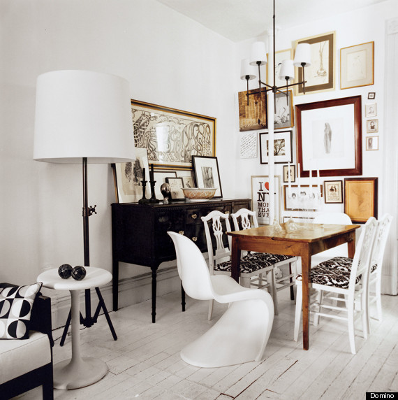 Living Room Furniture Mix And Match how to mix and match chairs like a pro | huffpost