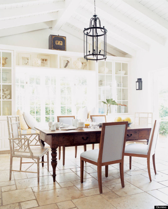 Like Goes With Like, So Place The Matching Chairs On The Sides Of The Table  And Balance The Space Out By Putting The Mismatched Versions At The Heads  Of The ...