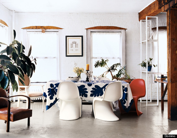 Not Ready To Go All Out With The Trend Keep Your Seating Same Exception Of One Or Two Chairs That Match In Every Way Except Color