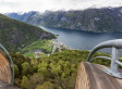 The View From Aurland Lookout Is Seriously Vertigo-Inducing