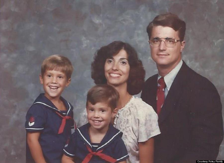 James Wright foley family
