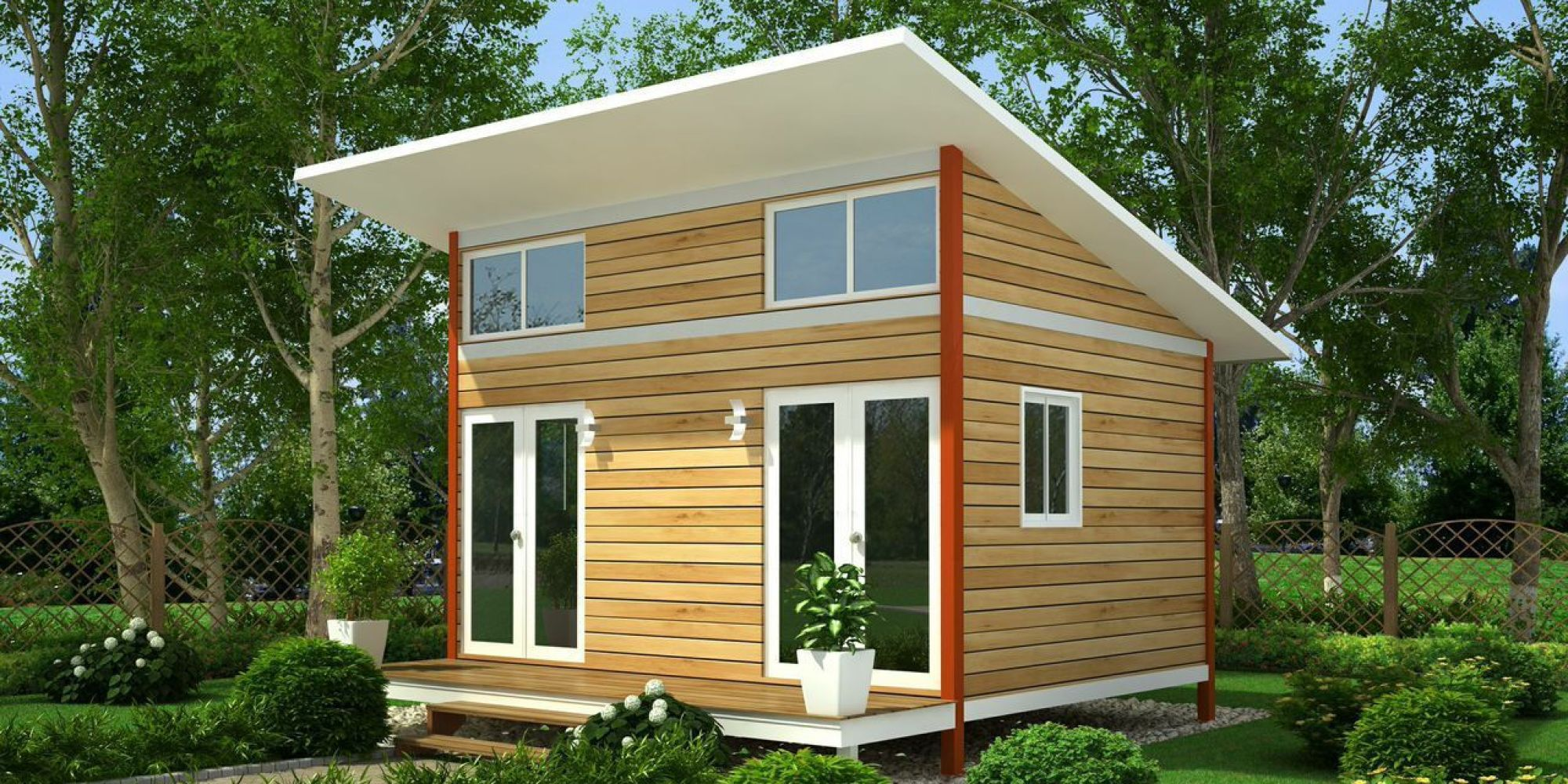 This genius project would create tiny homes for people for The new small house