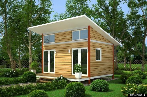 Tiny Homes For Homeless People Built By The Homeless Could Be Key