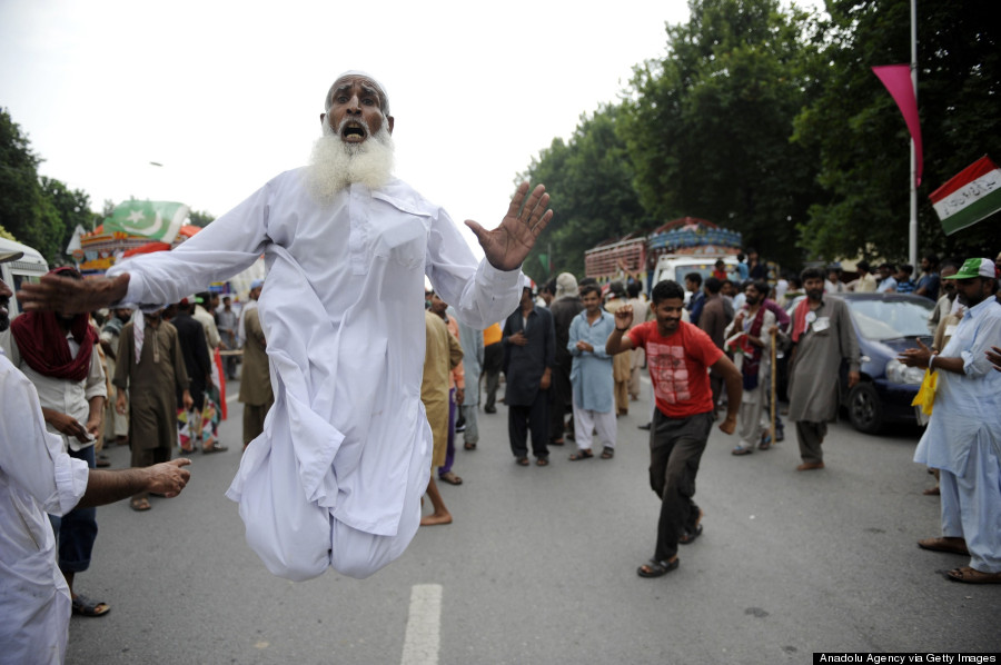 pakistan protest