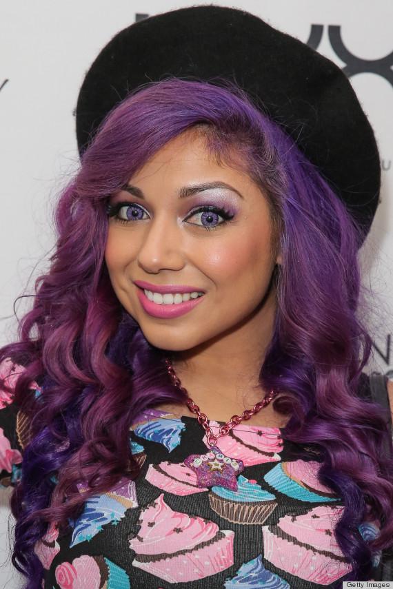 Makeup Colors For Purple Hair Saubhaya Makeup