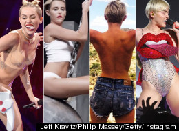 Miley Cyrus At The VMAs: One Year Later