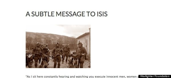 A Military Veteran Decided To Write ISIS A 'Subtle' Letter