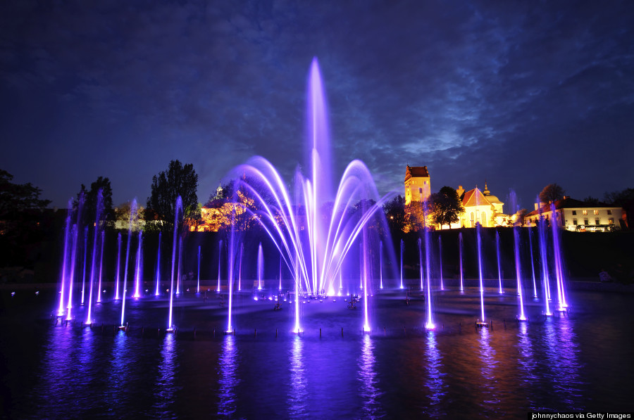 fountain park warsaw