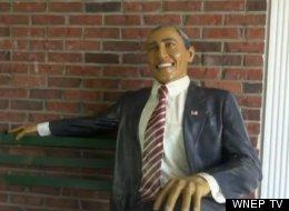 Stolen Barack Obama Statue Returned To Owner