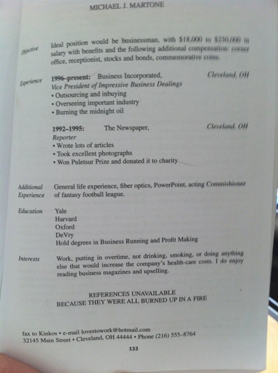 best resume ever photo - Best Resume Ever