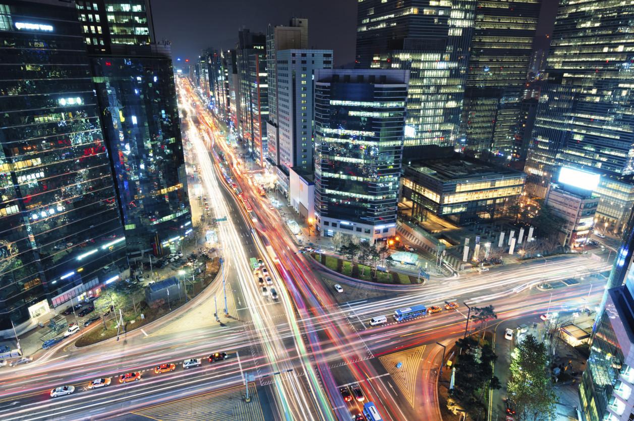 korea traffic