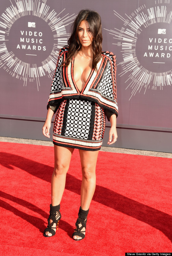 kim kardashian vmas dress
