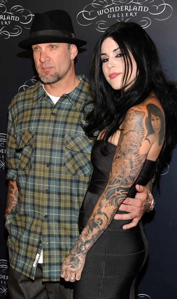 Jesse James amp Kat Von D Step Out Together PHOTOS HuffPost