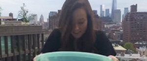 Olivia Wilde Ice Bucket