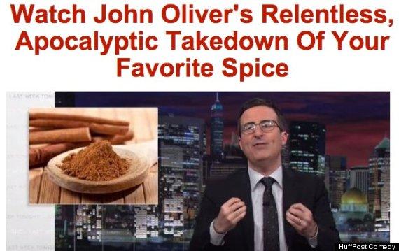 john oliver pinata