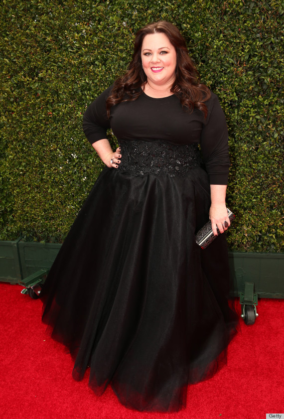 Melissa Mccarthy S Hair Is The Best Part Of Her Emmys 2014