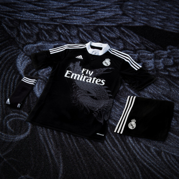 real madrid champions league kit